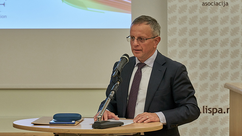 INTERGRAF atstovų vizitas Lietuvoje