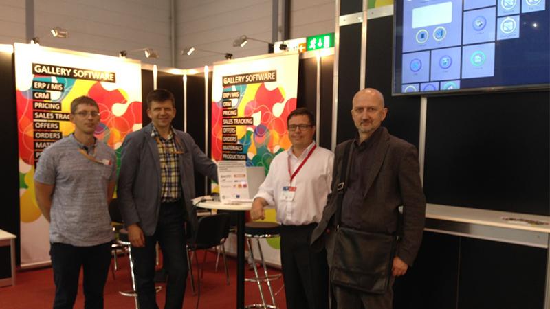 LISPA narių verslo misija Vokietijoje, DRUPA parodoje