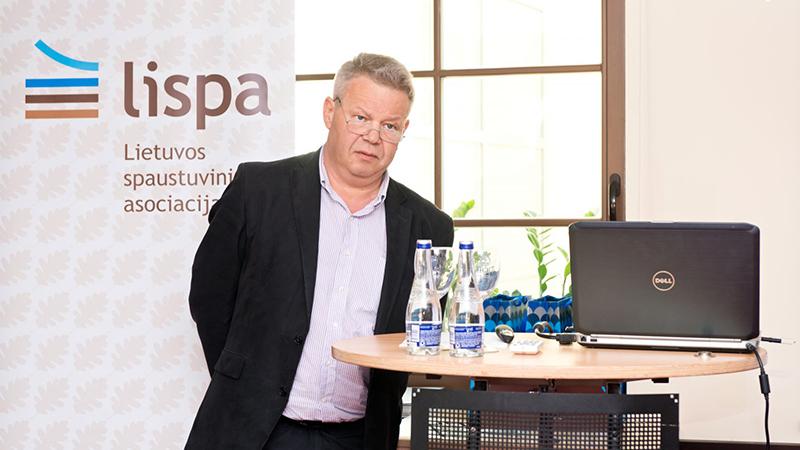 LISPA Visuotinio narių susirinkimo pranešimai: Inovacijos, Dizainas, RND produktų apsauga, Drupa2016 Heidelberg naujienos