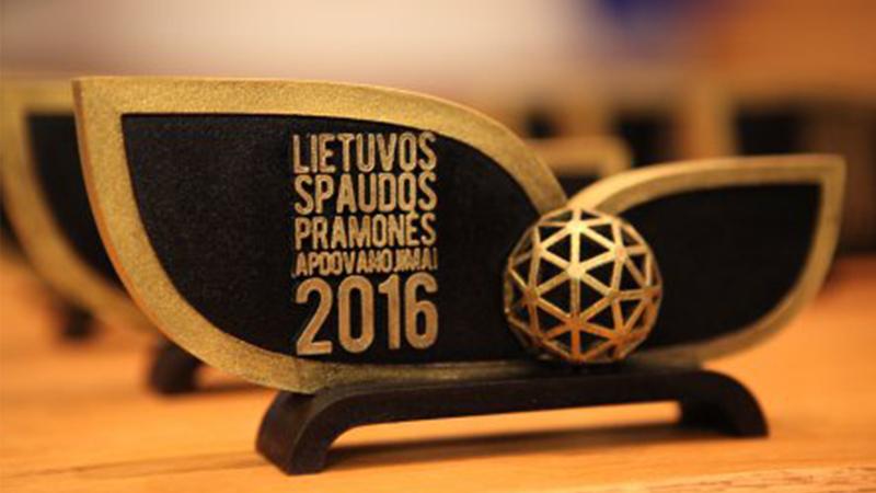 Ūkio ministras M. Sinkevičius įteikė apdovanojimus Lietuvos spaudos pramonės atstovams